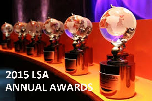 2015 LSA ANNUAL AWARDS